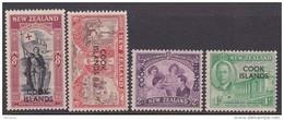 Cook Islands  SG 146-49 1946 Peace Mint - Cook Islands