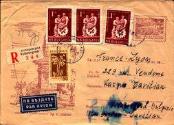 Lot De 12 Lettres De Russie (urss), Bulgarie, Recommander, Entier Postaux Pour La France    (etat Voir Photos) - Autres - Europe