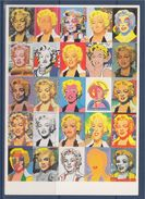 = Paul Giovanopoulos 1988, Norma Jean Baker, Carte Postale, - Malerei & Gemälde