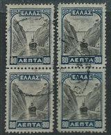 Grecia Usato 1927 - Mi.310 Coppia X2 - Usati