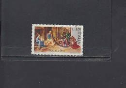 ITALIA  1978 -  Sassone 1434° - Natale - Arte - Pittura - Giorgione - 1971-80: Oblitérés