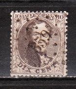 14B  Médaillon Dentelé 14,5 - Oblit. LP359 Thuin - LOOK!!!! - 1863-1864 Médaillons (13/16)