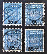 SURCHARGE 1934 - OBLITERES - YT 372 - MI 292 - VARIETES DE SURCHARGES - Gebraucht
