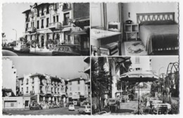 """Cpsm Bon Etat 9x14cm ,  Juan-les-pins , Multivues , Hôtel """" WINDSOR"""" 10m Plage Propriétaire   L.EHRMANN - Antibes"""