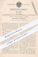 Original Patent - Gustav Tresenreuter , Berlin , 1900 , Mischvorrichtung Für Bunsenbrenner | Brenner , Gas , Gasbrenner - Historische Dokumente