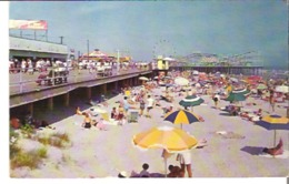 Boardwalk And Beach View, Wildwood, New Jersey - United States