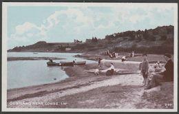 Gurnard Near Cowes, Isle Of Wight, C.1910 - J Welch Postcard - Cowes