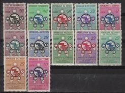Série De 12 Valeurs Neuves Sans Charnière, CCTA - France (ex-colonies & Protectorats)