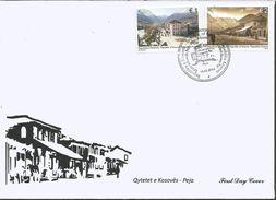 KOS 2014- PEJA, KOSOVO, FDC - Kosovo