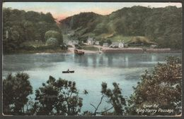 King Harry Passage, River Fal, Cornwall, 1911 - Wrench Postcard - Other