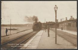 Der Bahnhof, Majorenhof, Riga, Lettland, C.1910s - Butkiewicz Foto-AK - Latvia