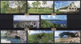 Niue. 2014. Scenic Definitives - A Tour Of Niue (MNH OG **) Set Of 8 Stamps - Niue