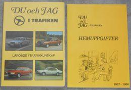 Du Och Jag I Trafiken - Lärobok I Trafikkunskap Från 80talet - Books, Magazines, Comics