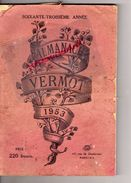 ALMANACH VERMOT 1953- PUB TRACTEUR LA PRAIRIE RENAULT - Books, Magazines, Comics