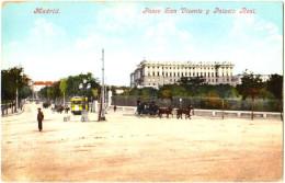 Madrid - Paseo San Vicente Y Palacio Real - & Tram - Madrid
