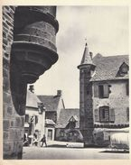 1936 - Héliogravure - Salers (Cantal) - La Place - FRANCO DE PORT - Vieux Papiers