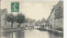 Méry  La Mare Mouton    Chevaux - France