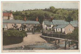 The Bridge, Helford, St Martin In Meneage, Cornwall, 1935 - Postcard - Other