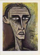 FRANCE :1981: Bernard BUFFET : § Autoportrait §  Repro Om In Te Kaderen / Repro (sur Papier Glacé) à Encadrer – 17 - Olieverf