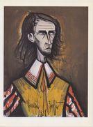 FRANCE :1981: Bernard BUFFET : § Autoportrait §  Repro Om In Te Kaderen / Repro (sur Papier Glacé) à Encadrer – 17 - Huiles
