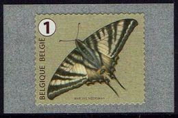 Belgie Belgien Belgium 2014 - Vlinder - 4461 / R128a  Met Nummer - Belgique