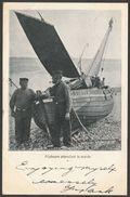 Pécheurs Attendant La Marée, Ostende - St Ives, Cornwall, 1903 - U/B Postcard - St.Ives
