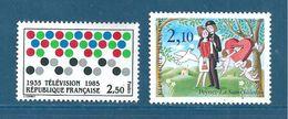 France Timbres De 1985 N°2353 Et 2354  Neuf **  Sans Charnières - Unused Stamps