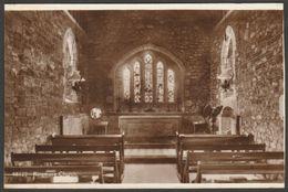 Interior, Ringmore Church, Devon, C.1910 - Frith's RP Postcard - England