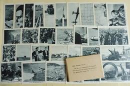 """Komplette Sammlung """"Der Zweite Weltkrieg Im Bild"""" Zigarettenbilder Eilebrecht,12 X 30 Bilder In Original Verpackungen - Sammelbilderalben & Katalogue"""