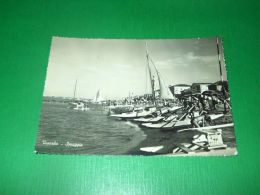 Cartolina Viserba - Spiaggia 1955 ++ - Rimini