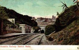 MALTA. NOTABILE RAILWAY STATION - Malta