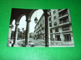 Cartolina Acqui Terme - Via Giulio Monteverde 1966 - Alessandria