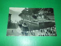 Cartolina Riva ( Lago Di Garda ) - Il Porto 1940 Ca - Trento