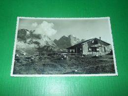 Cartolina Dolomiti Di Brenta - Rifugio Spinale Col Crozzon E La Cima Tosa 1931 - Trento