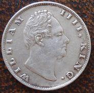 (J) INDIA - BRITISH: Silver Rupee 1835 XF (1772)  GREAT SALE!!!!!!! - Inde