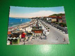Cartolina Cattolica - Spiaggia E Lungomare 1956 - Rimini