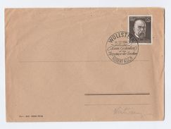 1943 Wollstein GERMANY EVENT Pmk COVER ROBERT KOCH Stamps Medicine Health Nobel Prize - Medicine
