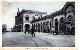 CATANIA - STAZIONE FERROVIARIA - VIAGGIATA - Catania