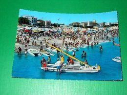 Cartolina Riviera Di Rimini - Vita Da Spiaggia 1958 - Rimini