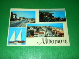 Cartolina Miramare Di Rimini - Vedute Diverse 1968 - Rimini
