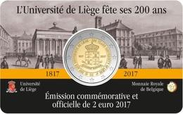 BELGIQUE - 2 Euro 2017 - Université De Liège - Disponibles!! - Belgique