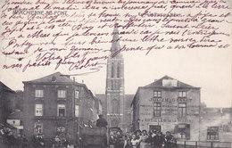 Marchienne Au Pont, Eglise Et Pont Rue Neuve, 2 Scans - Belgique
