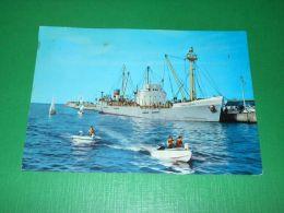 Cartolina Riviera Adriatica - Riccione - Navi Nel Porto 1964 - Rimini