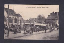 Vente Immediate Ste Sainte Savine  (10) Marche Place De L' Eglise ( Animée Collection T. G. ) - Sonstige Gemeinden