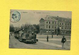LUNEVILLE 1902  TRAMWAY / TRAIN A VAPEUR EN VILLE  / SELECTION LORRAINE ILLUSTREE  CIRC OUI EDITION P HELMLINGER & CIE - Luneville