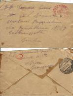 BUSTA PRIGIONIERI POW CAMP DEPOT VI SAIDA ALGERIA 1944 X CALTANISSETTA - Posta Militare (PM)