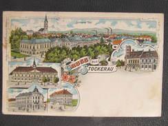 AK STOCKERAU Litho 1910  // D*24926 - Stockerau