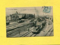 LUNEVILLE 1902  / TRAIN A VAPEUR EN GARE/ SELECTION LORRAINE ILLUSTREE  CIRC OUI EDITION P HELMLINGER & CIE - Luneville