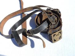 BEL ANCIEN CEINTURON OFFICIER ESPAGNE EPOQUE FRANCO - Divise