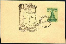 Poland 1960 Cancellation - 100 Years Of Polish Stamp 1860-1960 - PZF Tarnow - Dabrowa Tarnowska - 1944-.... Republic
